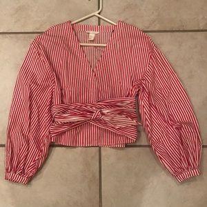 H&M striped top